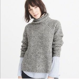 Abercrombie and Finch turtleneck sweater